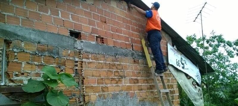 Paranaguá registra casas destelhadas devido às chuvas do fim de semana 1